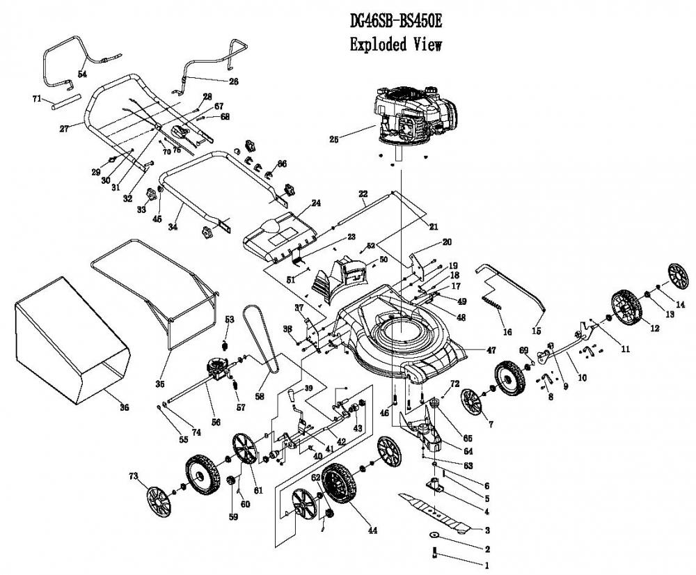 briggs and stratton intek parts diagram